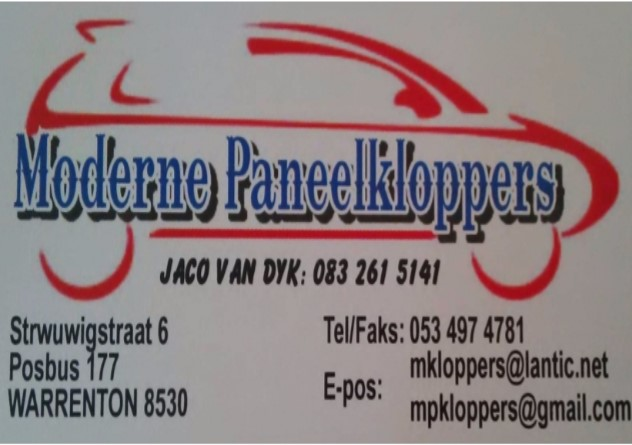 Moderne Paneelkloppers Warrenton